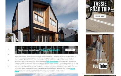 Top Ten Australian Timber Houses
